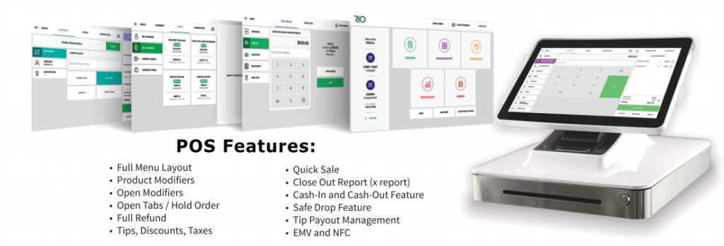 POS Features Display