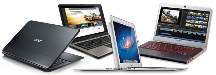 Laptop Banner Clear Solutions