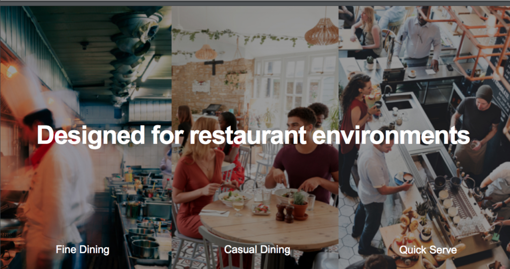 Fine Dining, Casual Dining, Quick Serve